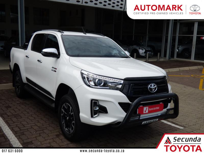2019 Toyota Hilux 2.8 GD-6 Raider 4X4 Auto Double Cab Bakkie Mpumalanga Secunda_0