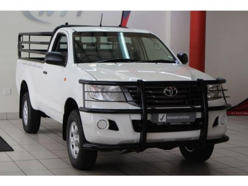 2014 Toyota Hilux 2.5 D-4d Srx 4x4 Pu Sc  Mpumalanga Barberton_0