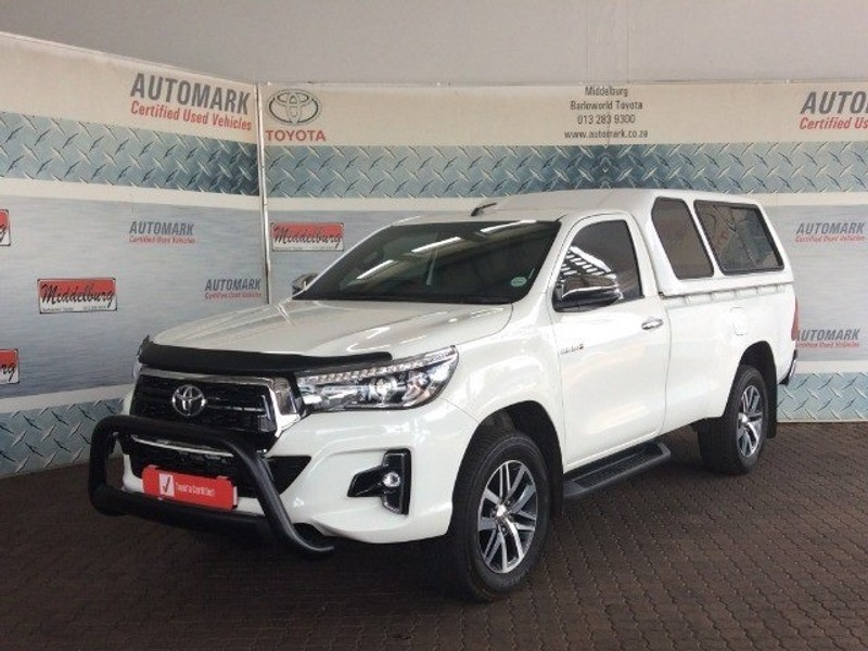 2019 Toyota Hilux 2.8 GD-6 Raider 4X4 Single Cab Bakkie Mpumalanga Middelburg_0