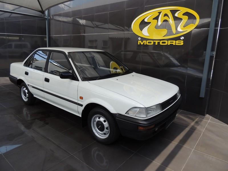 1990 Toyota Corolla 1.3 Gl  Gauteng Vereeniging_0