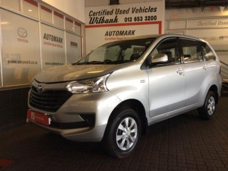 2019 Toyota Avanza 1.5 SX Mpumalanga Witbank_0