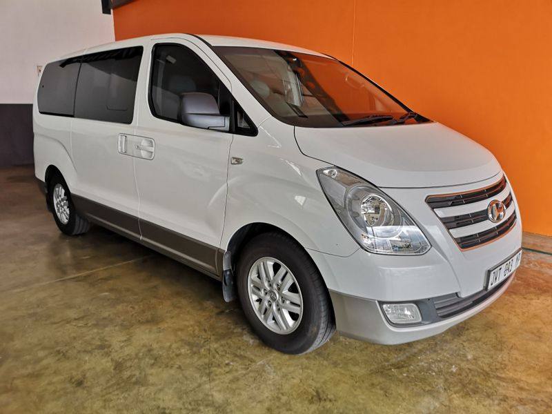 2017 Hyundai H1 2.5 CRDI Wagon Auto Mpumalanga Secunda_0