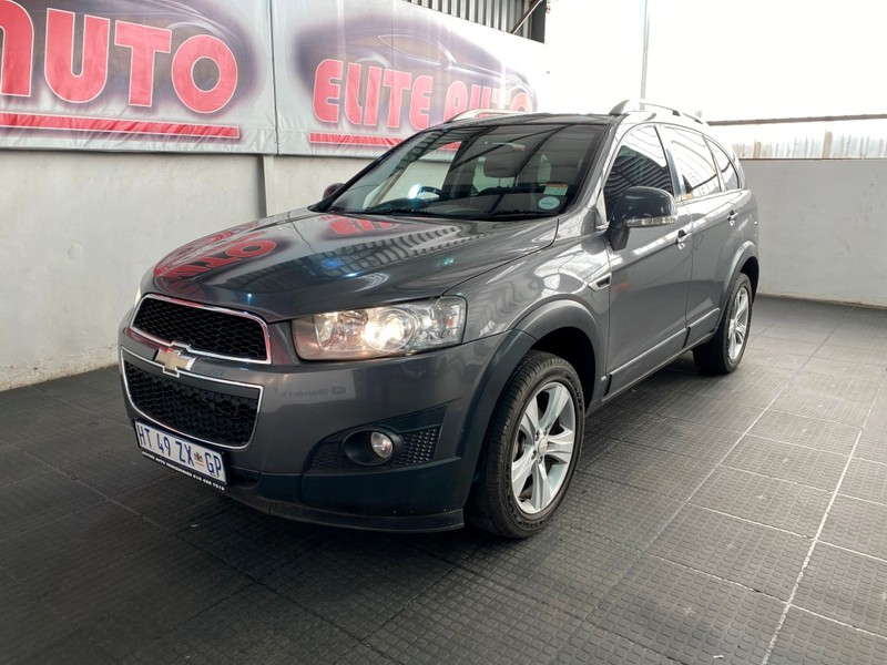 2012 Chevrolet Captiva 2.4 Lt 4x4  Gauteng Vereeniging_0