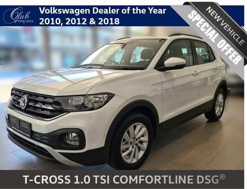 2020 Volkswagen T-Cross 1.0 Comfortline DSG Gauteng Johannesburg_0
