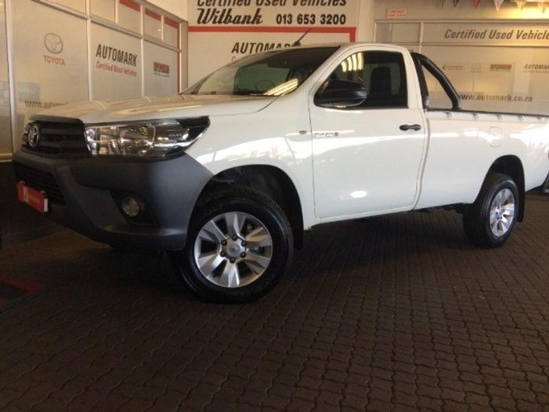 2019 Toyota Hilux 2.4 GD-6 SR 4X4 Single Cab Bakkie Mpumalanga Witbank_0