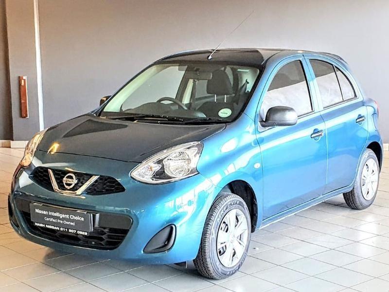 2020 Nissan Micra 1.2 Active Visia Gauteng Alberton_0