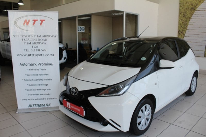 2016 Toyota Aygo 1.0 X- PLAY 5-Door Limpopo Phalaborwa_0