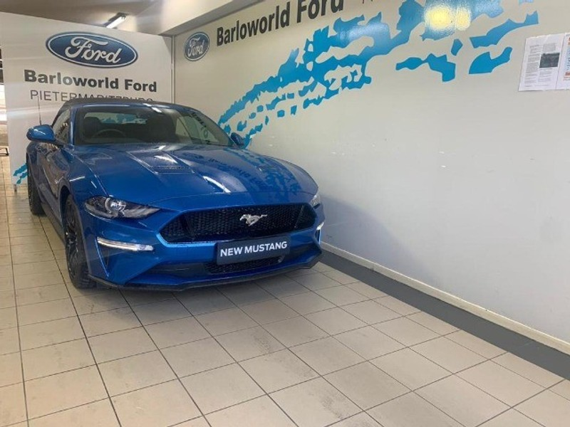 2020 Ford Mustang 5.0 GT Convertible Auto Kwazulu Natal Pietermaritzburg_0