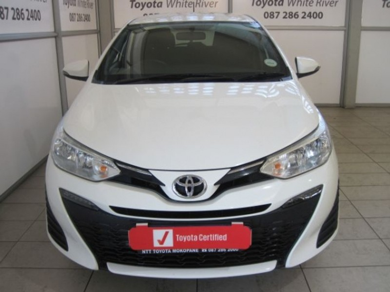 2018 Toyota Yaris 1.5 Xs CVT 5-Door Mpumalanga White River_0