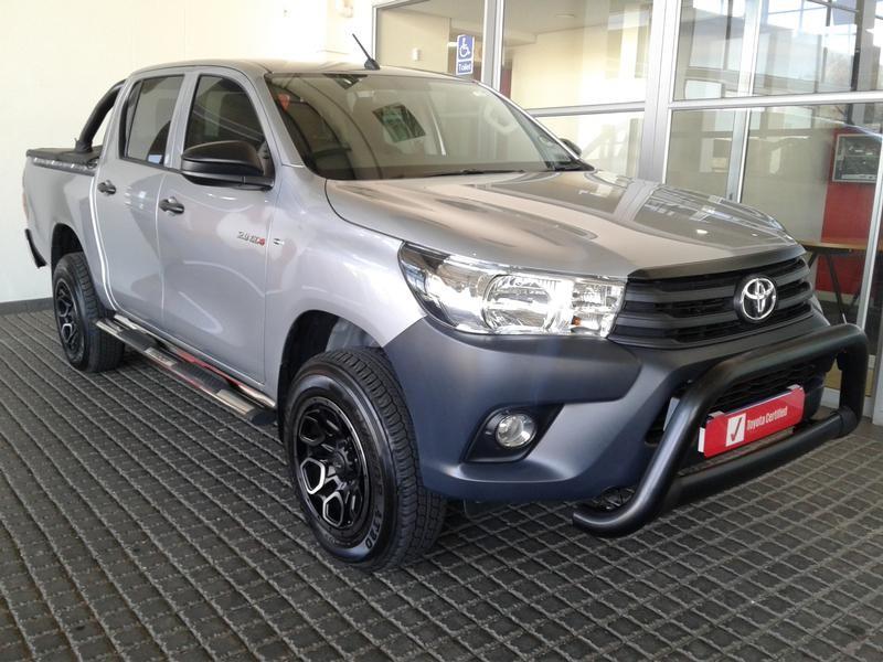 2020 Toyota Hilux 2.4 GD-6 SR 4X4 Double Cab Bakkie Gauteng Rosettenville_0