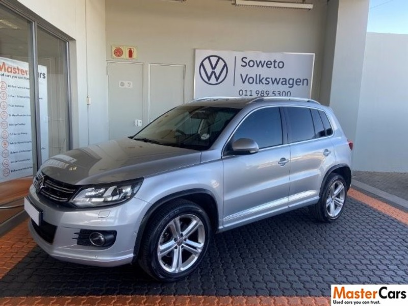 2015 Volkswagen Tiguan 2.0 Tsi  Sprt-styl 4mot Dsg  Gauteng Soweto_0