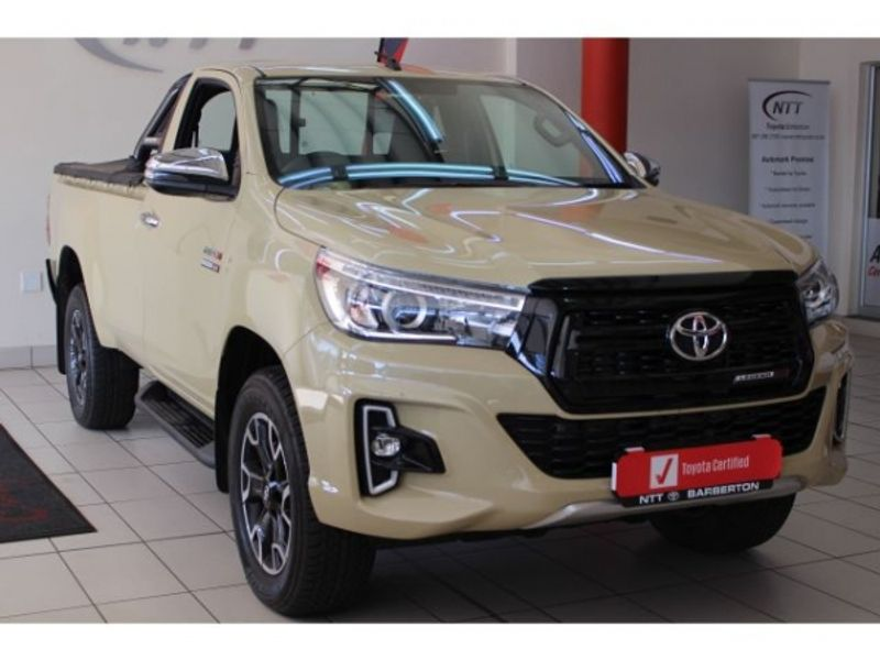 2020 Toyota Hilux 2.8 GD-6 Raider 4X4 Auto Single Cab Bakkie Mpumalanga Barberton_0