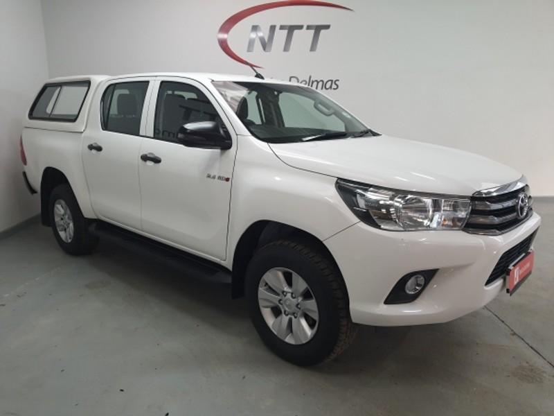 2018 Toyota Hilux 2.4 GD-6 SRX 4X4 Double Cab Bakkie Auto Mpumalanga Delmas_0