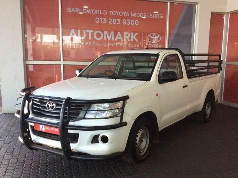 2016 Toyota Hilux 2.5 D-4d S Pu Sc  Mpumalanga Middelburg_0
