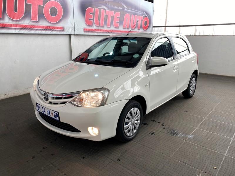 2015 Toyota Etios 1.5 Xs  Gauteng Vereeniging_0