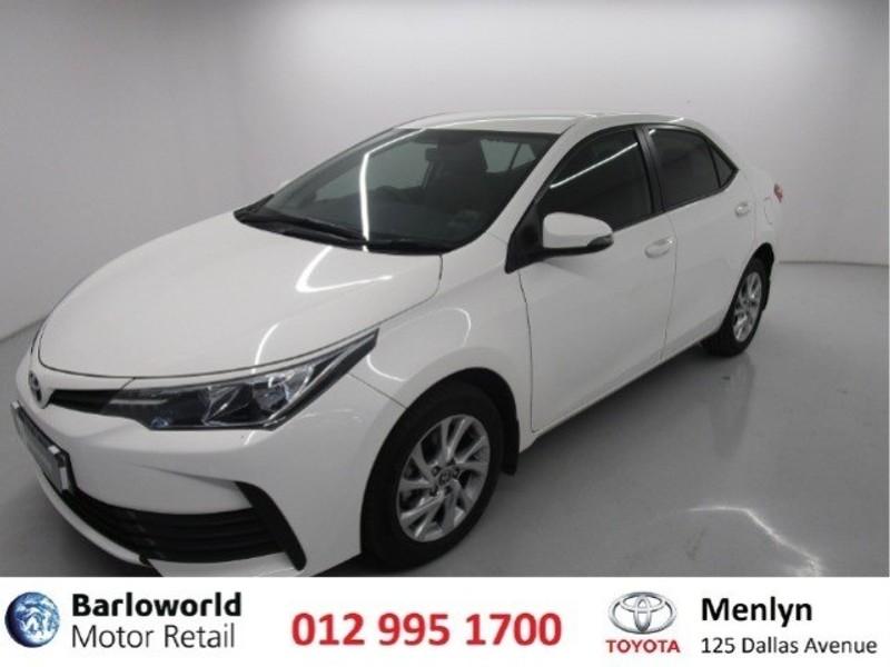 2020 Toyota Corolla Quest 1.8 Prestige Gauteng Pretoria_0