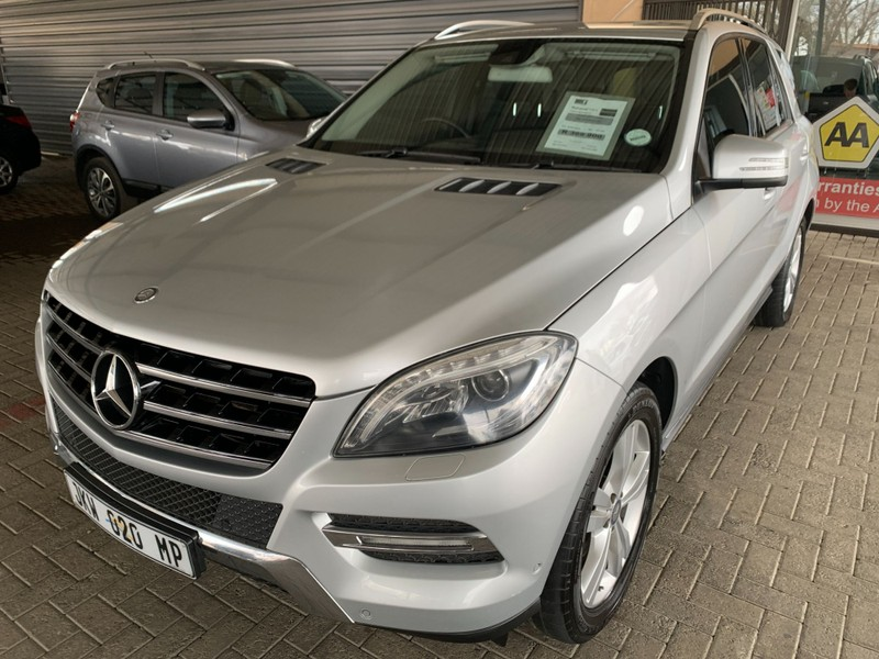2013 Mercedes-Benz M-Class Ml 350 Bluetec  Mpumalanga Secunda_0