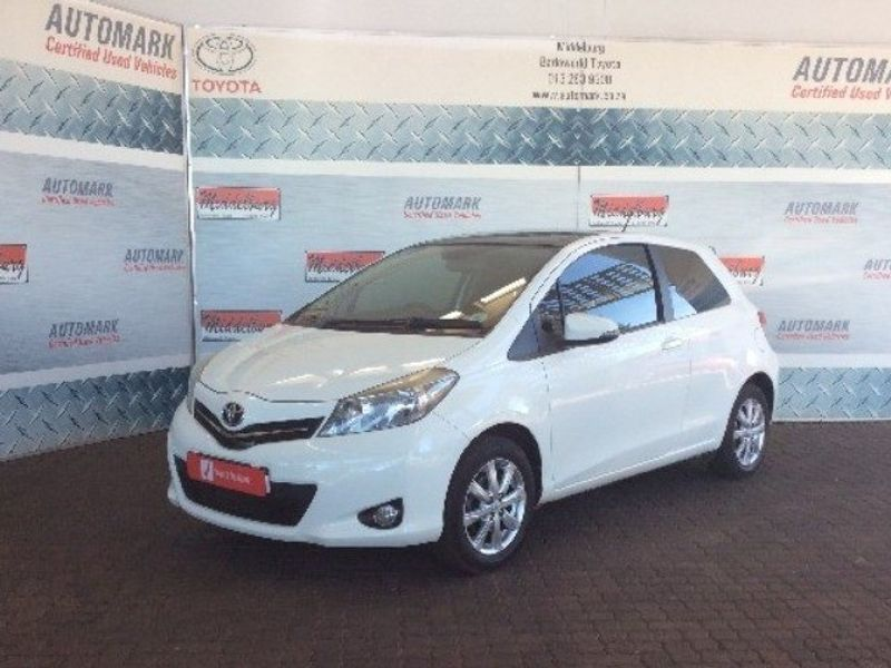 2013 Toyota Yaris 1.3 Xr 3dr  Mpumalanga Middelburg_0