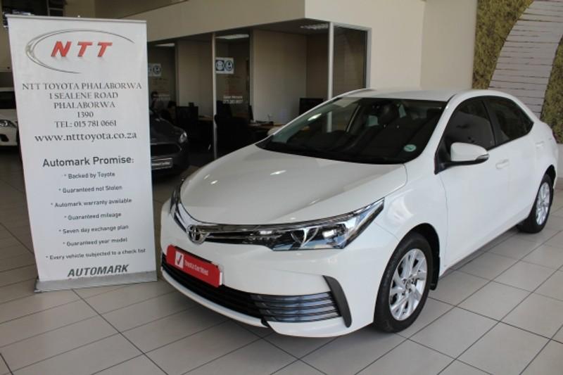 2017 Toyota Corolla 1.3 Prestige Limpopo Phalaborwa_0