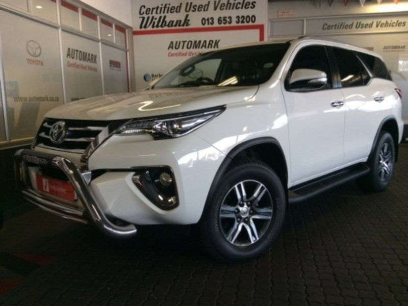 2016 Toyota Fortuner 2.8GD-6 RB Auto Mpumalanga Witbank_0