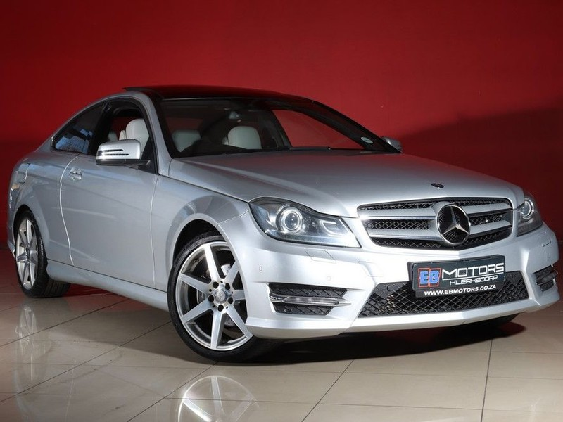 2015 Mercedes-Benz C-Class C180 Be Coupe At  North West Province Klerksdorp_0