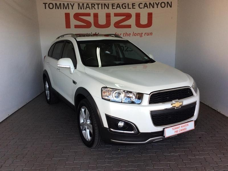 2014 Chevrolet Captiva 2.2d Ltz 4x4 At  Gauteng Randburg_0