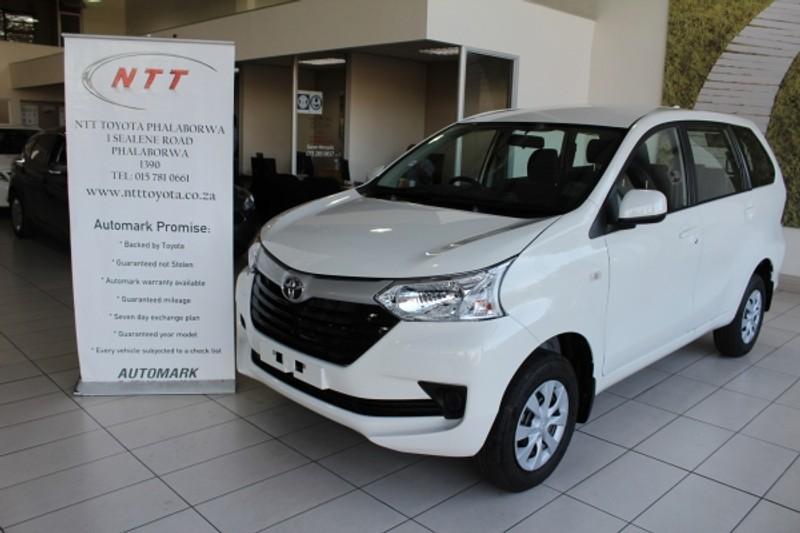 2020 Toyota Avanza 1.3 SX Limpopo Phalaborwa_0