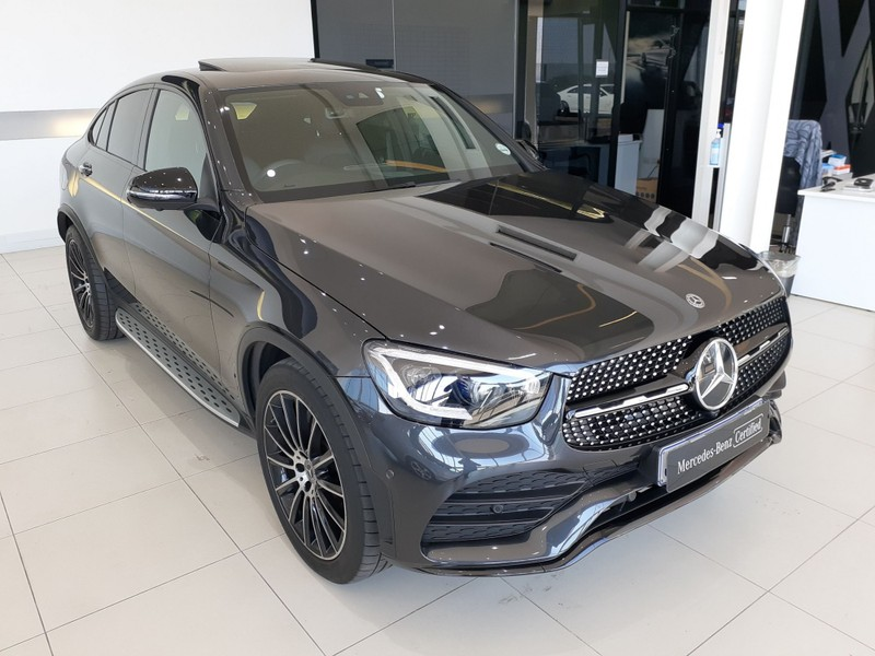 2019 Mercedes-Benz GLC COUPE 220d AMG Gauteng Randburg_0