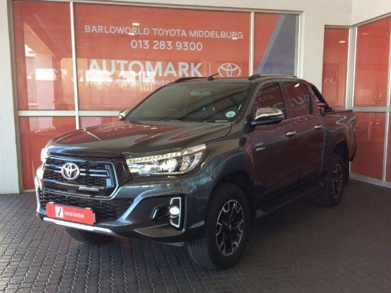 2019 Toyota Hilux 2.8 GD-6 Raider 4X4 Auto Double Cab Bakkie Mpumalanga Middelburg_0