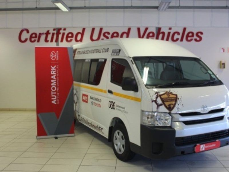 2020 Toyota Quantum 2.7 Sesfikile 16s  Western Cape Stellenbosch_0