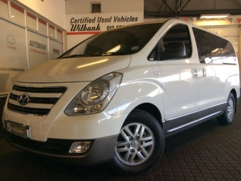2017 Hyundai H1 Gls 2.4 Cvvt Wagon  Mpumalanga Witbank_0
