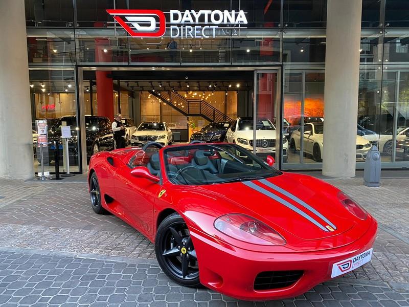 2003 Ferrari 360 Spider F1  Gauteng Johannesburg_0