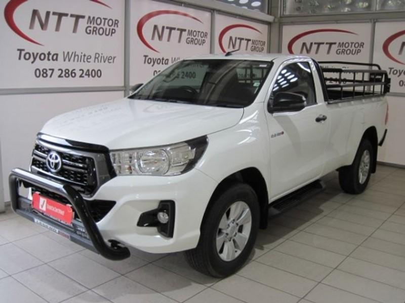 2020 Toyota Hilux 2.4 GD-6 RB SRX Auto Single Cab Bakkie Mpumalanga White River_0