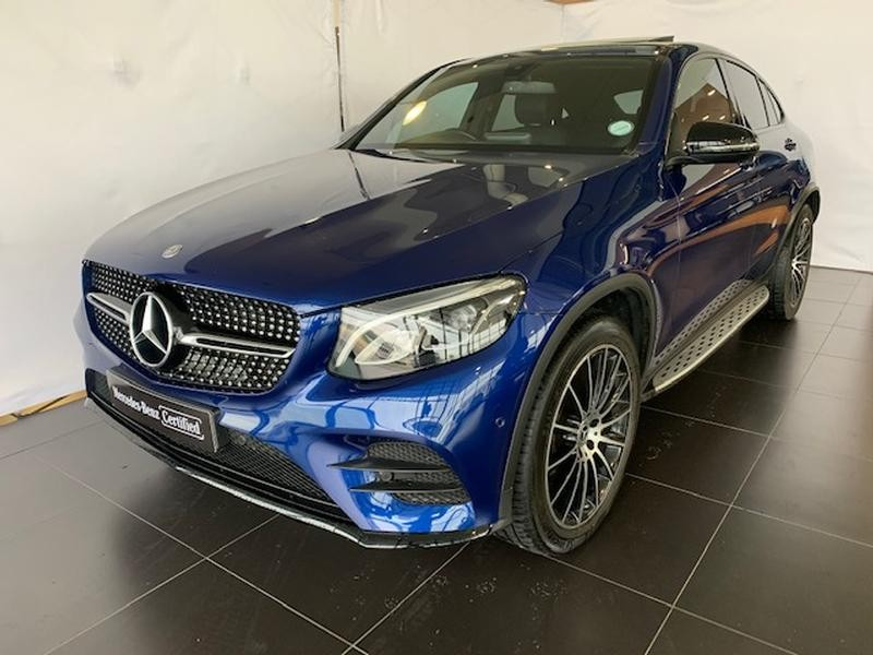 2017 Mercedes-Benz GLC COUPE 250d AMG Western Cape Paarl_0