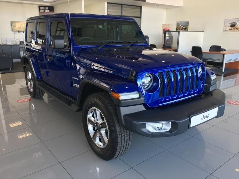 2020 Jeep Wrangler UNLTD Sahara 3.6 V6 Gauteng Johannesburg_0