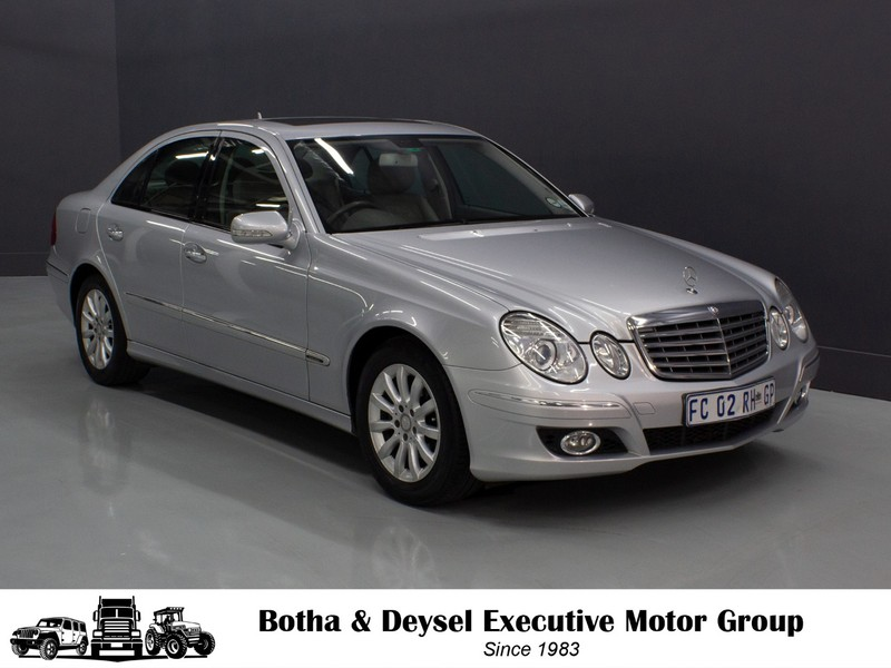 2009 Mercedes-Benz E-Class E 320 Cdi  Gauteng Vereeniging_0