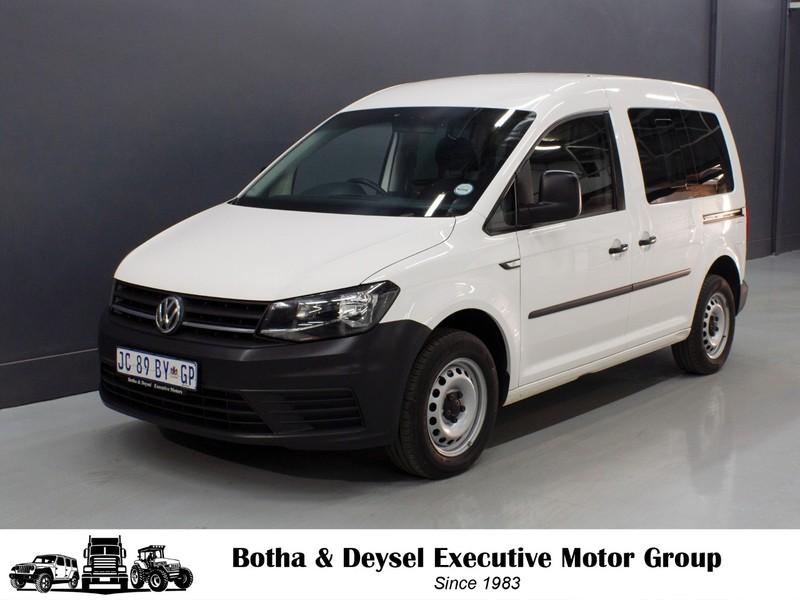 2016 Volkswagen Caddy Crewbus 1.6i Gauteng Vereeniging_0