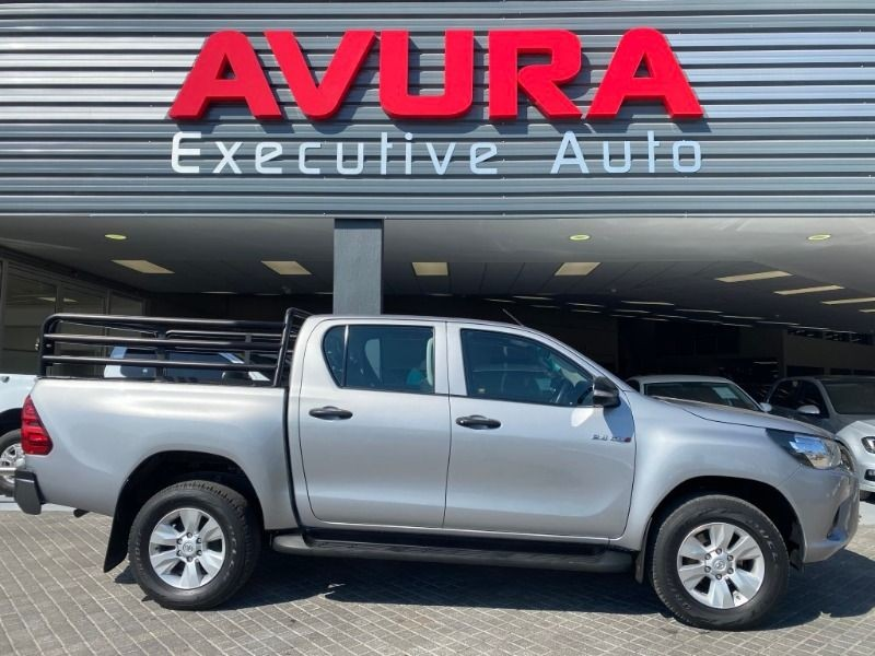 2017 Toyota Hilux 2.4 GD-6 RB SRX Double Cab Bakkie North West Province Rustenburg_0