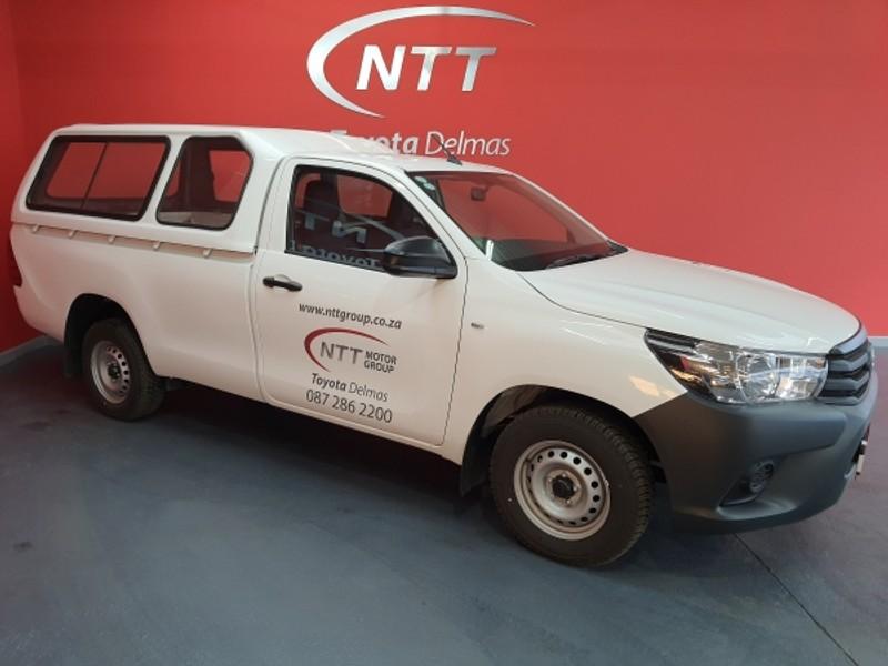 2020 Toyota Hilux 2.4 GD AC Single Cab Bakkie Mpumalanga Delmas_0