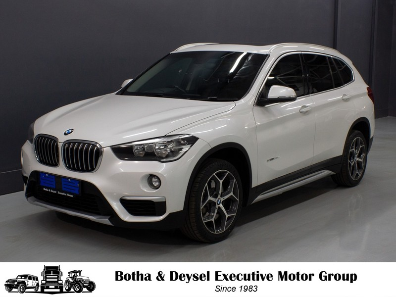 2017 BMW X1 sDRIVE20d xLINE Auto Gauteng Vereeniging_0