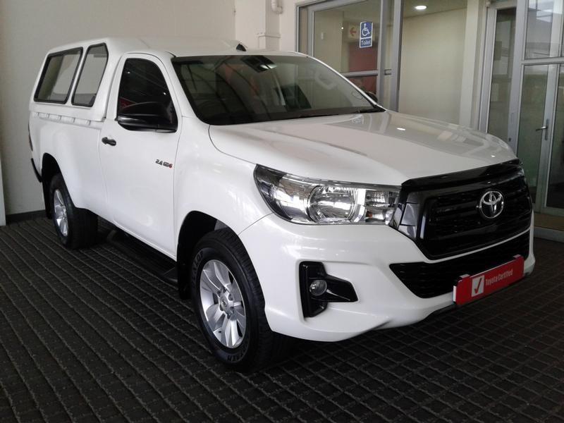2019 Toyota Hilux 2.4 GD-6 RB SRX Single Cab Bakkie Gauteng Rosettenville_0