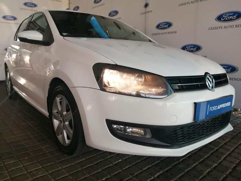 2010 Volkswagen Polo 1.6 Tdi Comfortline 5dr  Gauteng Johannesburg_0