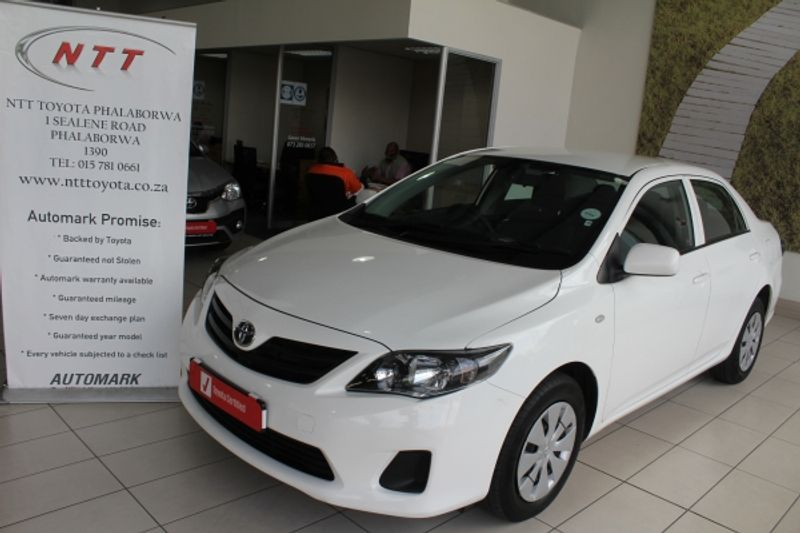 2018 Toyota Corolla Quest 1.6 Auto Limpopo Phalaborwa_0