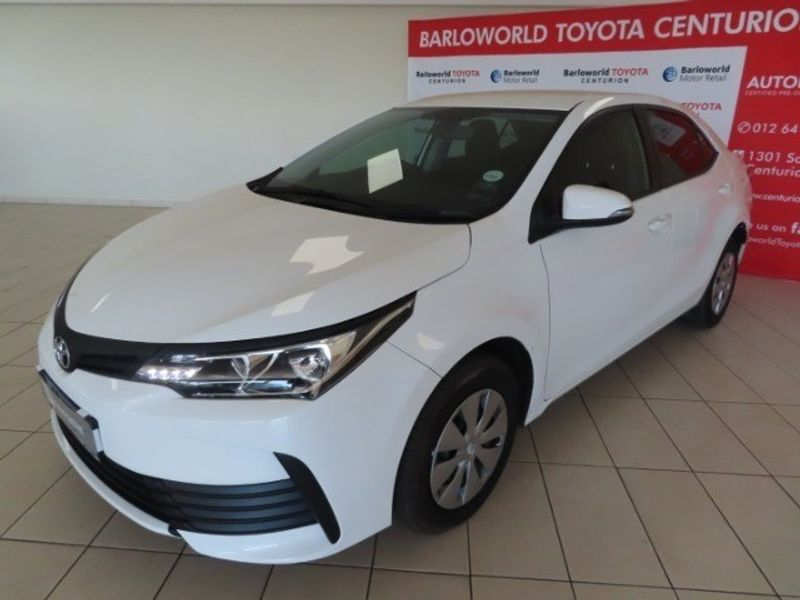 2020 Toyota Corolla Quest 1.8 Gauteng Centurion_0