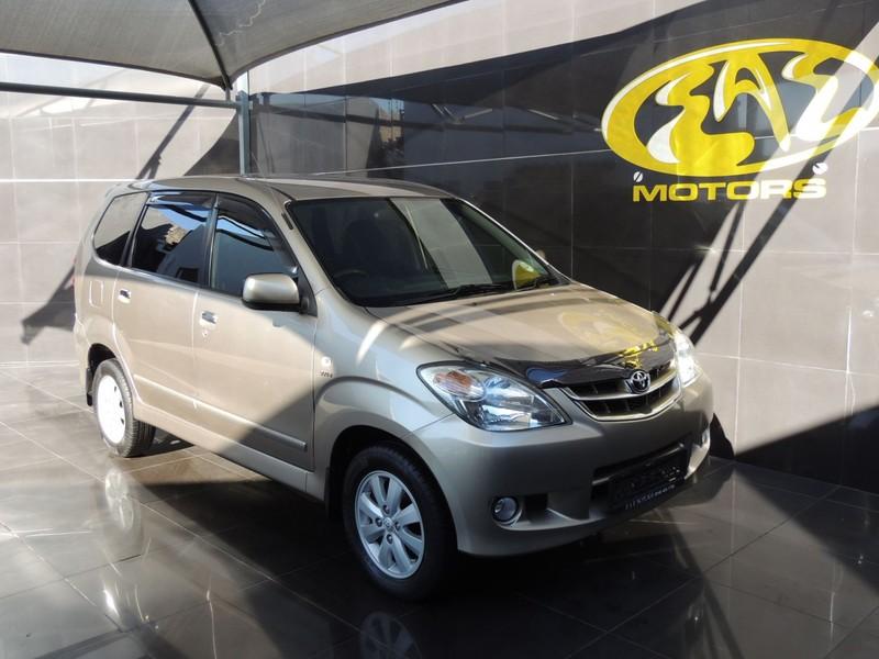 2010 Toyota Avanza 1.5 Tx  Gauteng Vereeniging_0