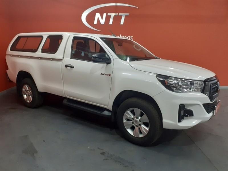2019 Toyota Hilux 2.4 GD-6 SRX 4X4 Single Cab Bakkie Mpumalanga Delmas_0