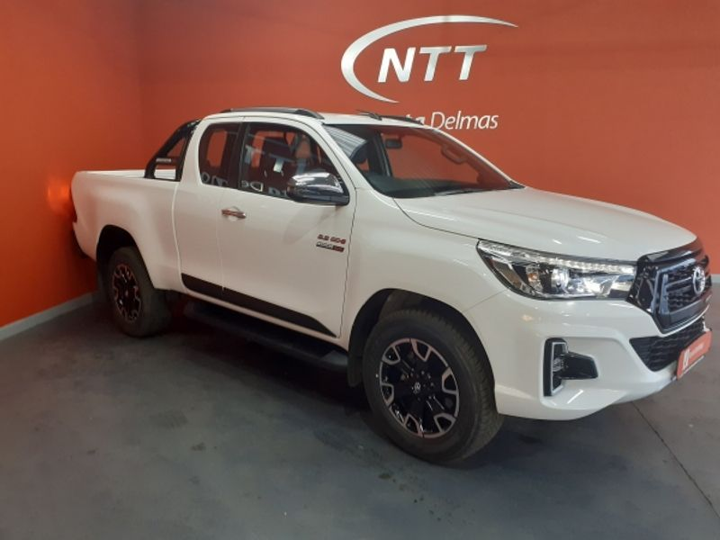 2020 Toyota Hilux 2.8 GD-6 RB Raider 4X4 Auto PU ECAB Mpumalanga Delmas_0