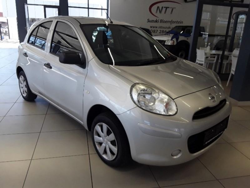 2014 Nissan Micra 1.2 Visia Insync 5dr d86v  Free State Bloemfontein_0