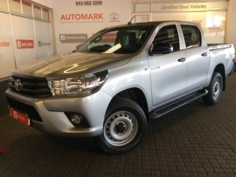 2019 Toyota Hilux 2.4 GD-6 SR 4X4 Double Cab Bakkie Mpumalanga Witbank_0