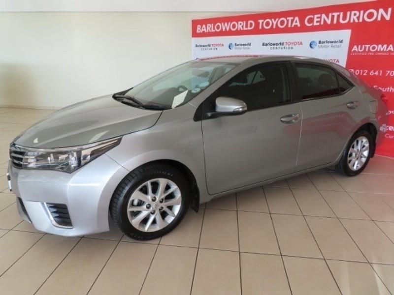 2017 Toyota Corolla 1.6 Prestige CVT Gauteng Centurion_0
